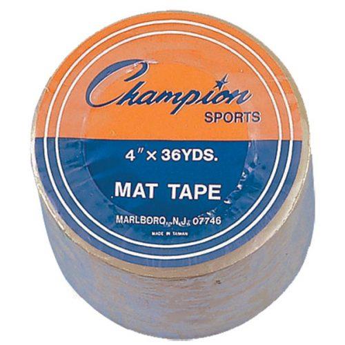 Champion Sports 4X36MT 4 in. x 36 Yards Mat Tape Clear