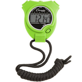 Champion Sports 910NGN Stop Watch Neon Green