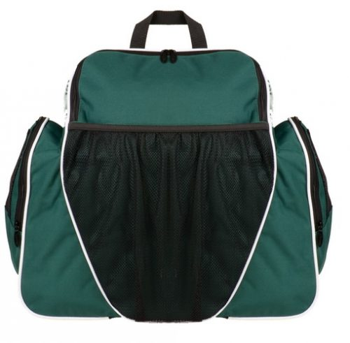 Champion Sports BP1810DG 18 x 19 x 10 in. Deluxe All Purpose Backpack Dark Green