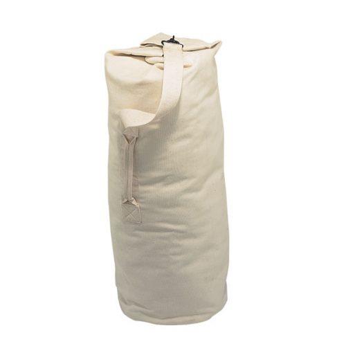 Champion Sports CB1203 12 oz Army Duffle Bag Beige