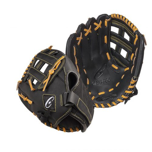 Champion Sports CBG935RH 11 in. Physical Education Glove Series - Full Right Black
