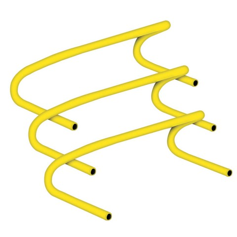 Champion Sports CHA138 6 in. Speed Hurdle Made of Lightweight Plastic Yellow