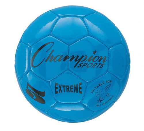 Champion Sports CHSEX4BL 4 Size Extreme Series Soccer Ball - Blue