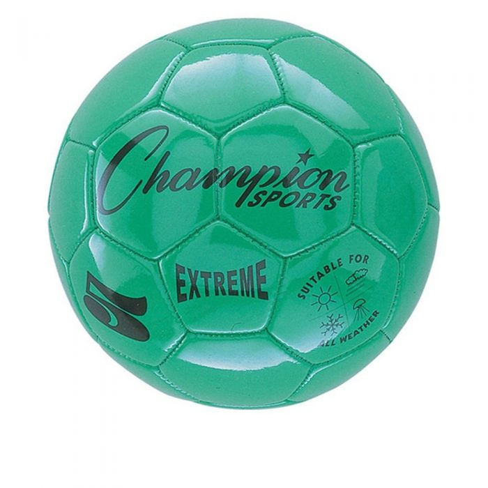 Champion Sports CHSEX5GN 5 Size Extreme Series Soccer Ball - Green