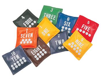 Champion Sports CHSNB55 Bean Bags 5In Bean Bags 10-Set