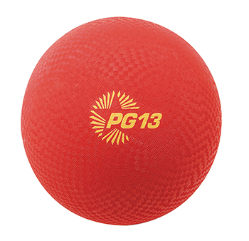 Champion Sports CHSPG13RD Playground Balls Inflates To 13In