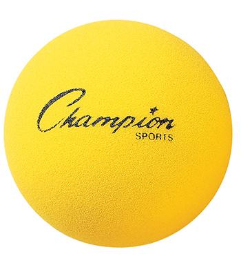 Champion Sports CHSRD7 Foam Ball 7 In