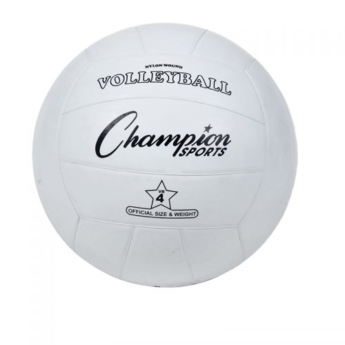 Champion Sports CHSVR4BN Regulation Rubber Volleyball