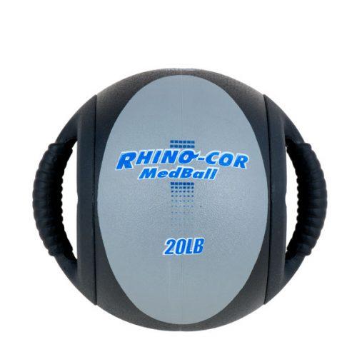 Champion Sports CXB20 20 lbs Rhino-Cor Medicine Ball Gray