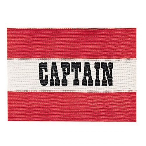 Champion Sports CYPRD Youth Captain Arm Band Red & White