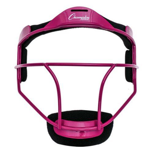 Champion Sports FMAPK Adult Softball Fielders Face Mask Pink