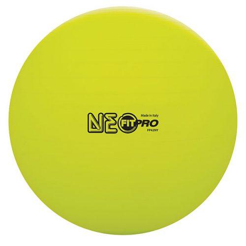 Champion Sports FP42NY 42 cm Fitpro Training & Exercise Ball Neon Yellow