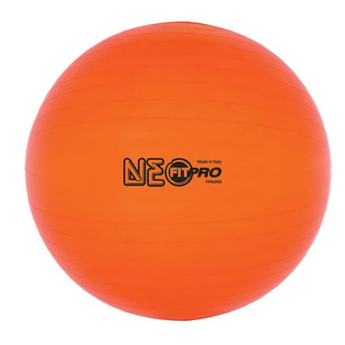 Champion Sports FP65NO 65 cm Fitpro Training & Exercise Ball Neon Orange