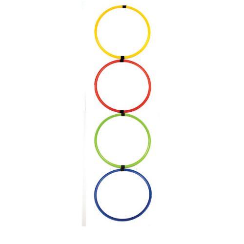 Champion Sports HAL12 Hoop Agility Ladder Multicolor