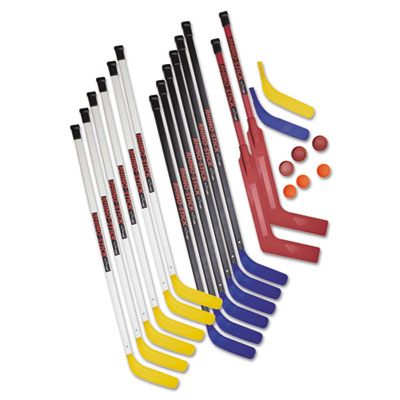 Champion Sports HS47SET Rhino Stick Senior Hockey Set 47 in. Plastic