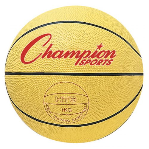 Champion Sports HT6 28.5 in. Weighted Basketball Trainer Yellow