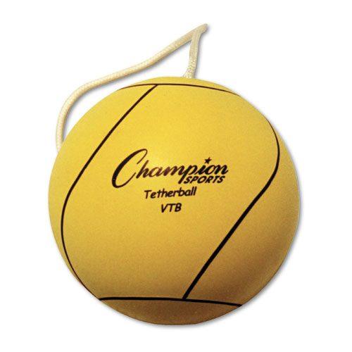 Champion Sports Heavy-duty White Tether Ball