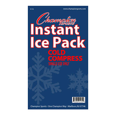 Champion Sports IC16 Instant Cold Compress