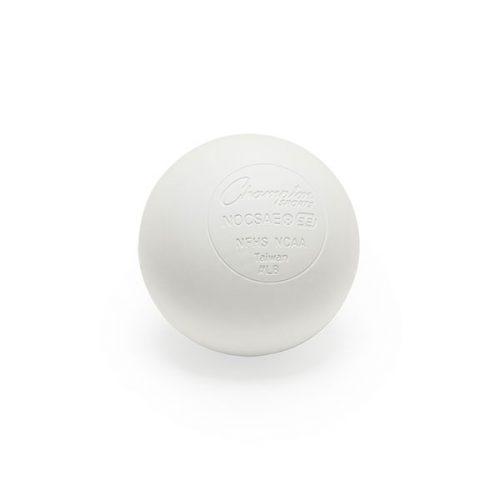 Champion Sports LBWNOCSAE 2.5 in. Official Lacrosse Ball White