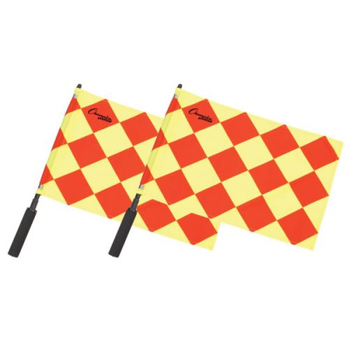 Champion Sports LF3 Official Diamond Flag Red & Yellow