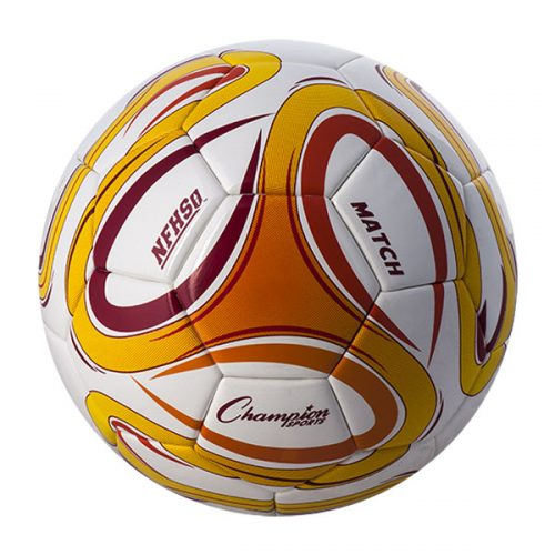 Champion Sports MATCH5 Thermal Bonded Soccer Ball - Size 5