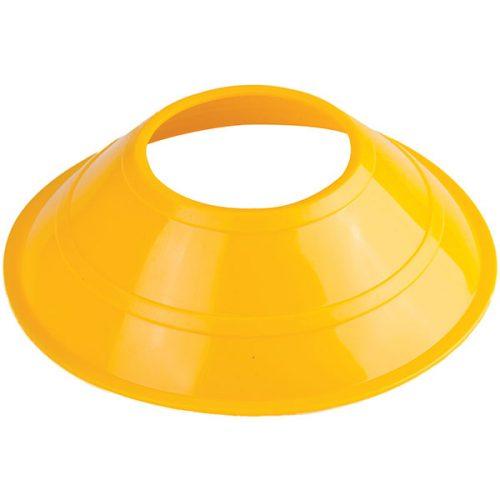 Champion Sports MCXNYL 5 in. Mini Neon Field Cones Neon Yellow