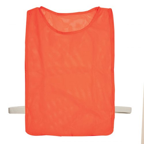 Champion Sports MPANOR Adult Deluxe Pinnie Neon Orange - Pack of 12