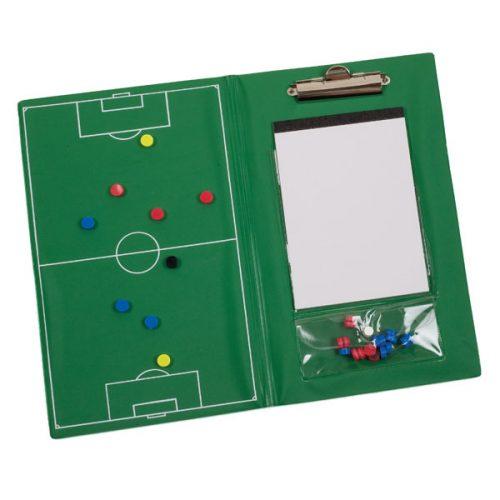 Champion Sports MSCB Magnetic Soccer Clipboard Set Green