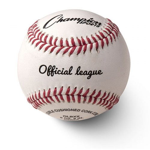 Champion Sports OLBXX 3 in. Blem Leather Cover Baseball