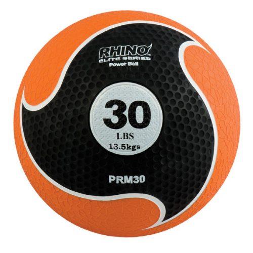 Champion Sports PRM30 30 lbs Rhino Elite Medicine Ball Orange