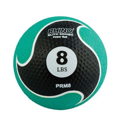 Champion Sports PRM8 8 lbs Rhino Elite Medicine Ball Green