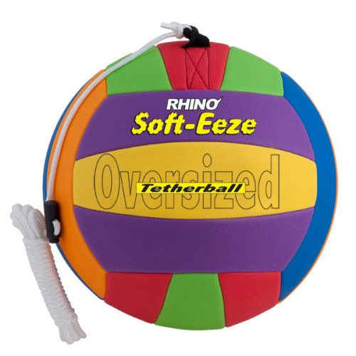 Champion Sports RSTB10 10 in. Rhino Soft Eeze Volleyball Multicolor