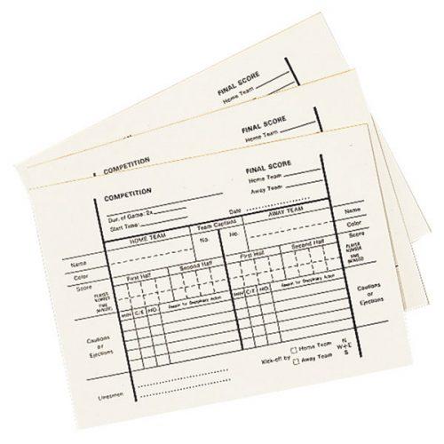 Champion Sports RWPAD Referee Pad 12 Sheet
