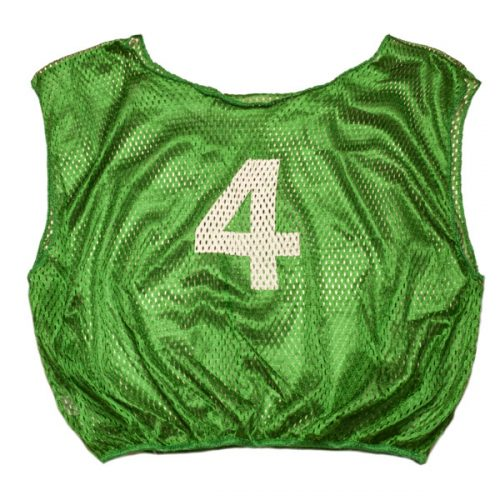 Champion Sports SVYWNGN Practice Numbered Youth Scrimmage Vest Green