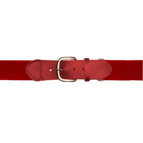 Champion Sports UBYRD Youth Baseball & Softball Uniform Belt Scarlet
