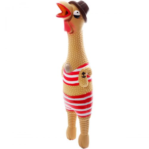Charming Pet 79914XL Squawkers Grampa Gimpy Hip Pet Toy Extra Large - 5 x 4 x 17 in.