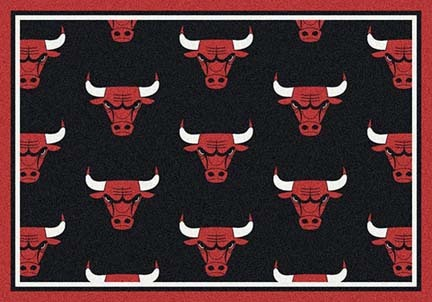 "Chicago Bulls 2' 1"" x 7' 8"" Team Repeat Area Rug Runner"