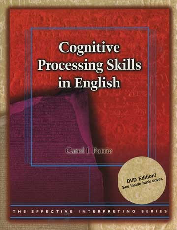 Cicso Independent BDVD181 Effective Interpreting - Cognitive Processing Skills in English Study Set