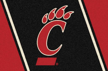 "Cincinnati Bearcats 3'10""x 5'4"" Team Spirit Area Rug"