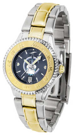 Citadel Bulldogs Competitor AnoChrome Ladies Watch with Two-Tone Band