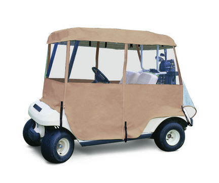 Classic Accessories Deluxe 4 Sided Golf Cart Enclosure (2 Person Golf Carts)