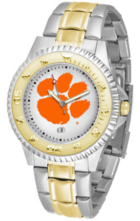 Clemson Tigers Competitor Two Tone Watch