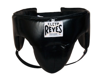 Cleto Reyes Traditional Black Foul-Proof Protection Groin Guard (Large)