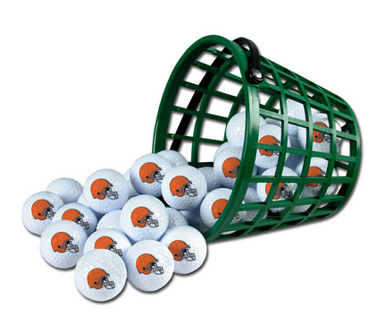 Cleveland Browns Golf Ball Bucket (36 Balls)