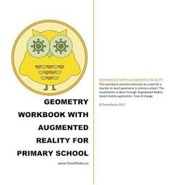 Cleverbooks CVB9781999894603 Geometry Workbook with Augmented Reality