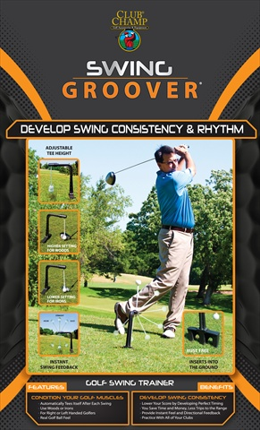 Club Champ 9202 Outdoor Swing Groover