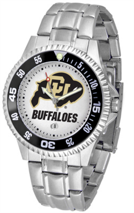 Colorado Buffaloes Competitor Watch with a Metal Band
