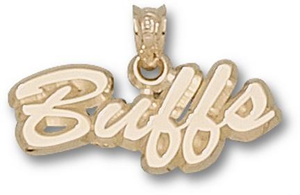 "Colorado Buffaloes Script ""Buffs"" Pendant - 10KT Gold Jewelry"
