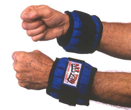 Complete Medical M600M Adjustable Wrist Weights - To 2 Lbs.