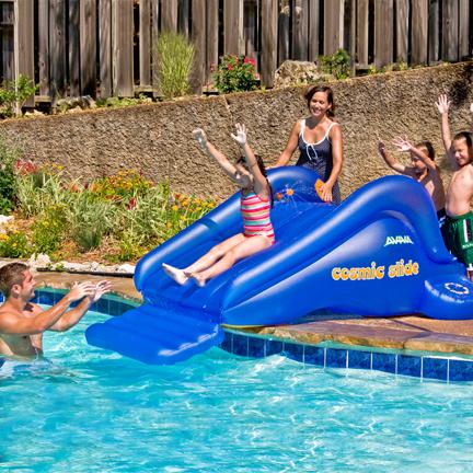 Cosmic Inflatable Water Slide